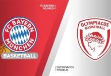 Photo of Μπάγερν vs Ολυμπιακός – Παρασκευή 23/10 – Προγνωστικά Euroleague