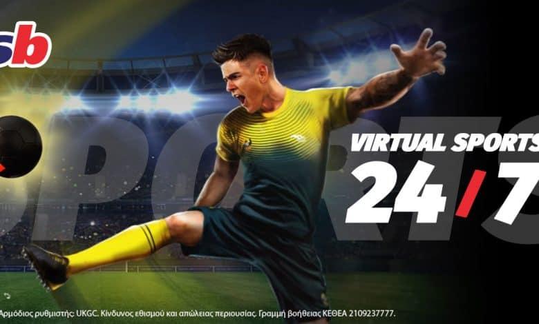 Virtual Sports και ατμόσφαιρα που καθηλώνει στη Sportingbet.gr